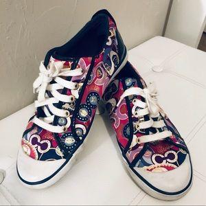COACH Colorful Poppy Barrett Sneakers